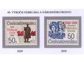 ČS 1988 / 2829-2830 / Február 1948 a NF **