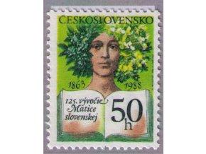 ČS 1988 / 2841 / 125 r. Matice slovenskej **