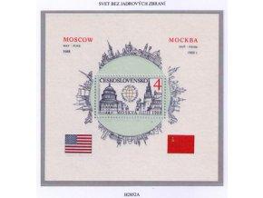 ČS 1988 / 2852 H / Za svet bez jadrových zbraní **