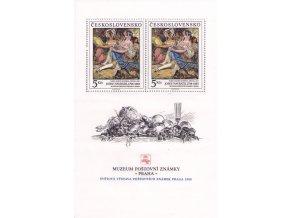 ČS 1988 / 2860 H / Múzeum poštovej známky **