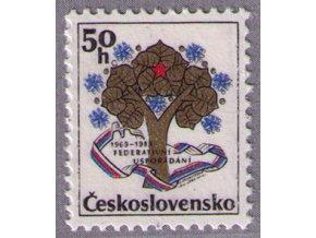 ČS 1989 / 2874 / 20. výročie federácie **