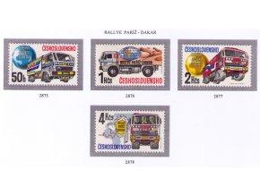 ČS 1989 / 2875-2878 / Ralley Paríž-Dakar **