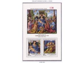ČS 2892-2893 H Ružencová slávnosť