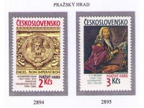 ČS 1989 / 2894-2895 / Pražský hrad **