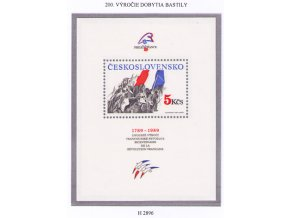 ČS 1989 / 2896 H / Výročie dobytia Bastily **