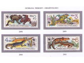 ČS 1989 / 2898-2901 / Ochrana prírody - WWF **
