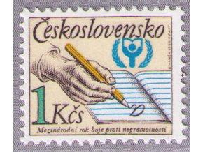 ČS 1990 / 2921 / Boj proti negramotnosti **