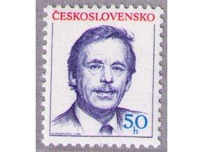 ČS 1990 / 2928 / V. Havel **