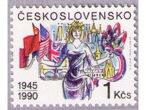 ČS 1990 / 2939 / Výročie oslobodenia **