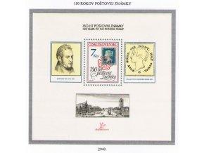 ČS 1990 / 2940 H / 150 rokov poštovej známky **