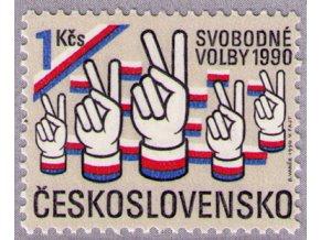 ČS 1990 / 2942 / Slobodné voľby **