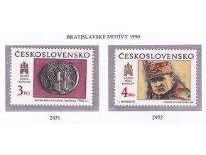 ČS 1990 / 2951-2952 / Bratislavské motívy **