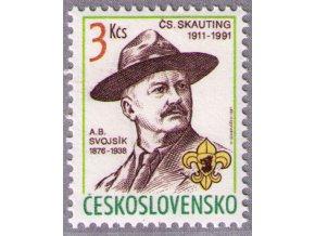 ČS 1991 / 2966 / 80. výročie skautingu **