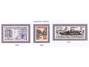 ČS 1991 / 2968-2970 / Pamätné výročia **