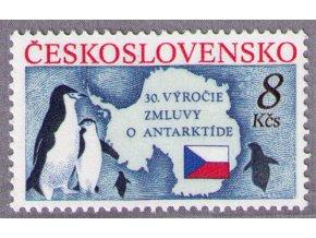 ČS 1991 / 2978 / Zmluva o Antarktíde **