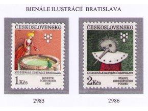 ČS 1991 / 2985-2986 / BIB 1991 **