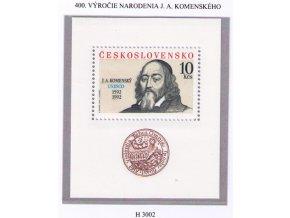 ČS 1992 / 3002 H / Jan Ámos Komenský **