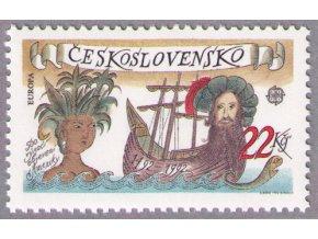 ČS 1992 / 3006 / EUROPA: 500. výročie objavenia Ameriky **