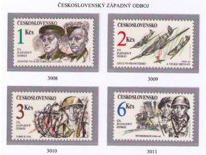 ČS 1992 / 3008-3011 / Čs. západný odboj **