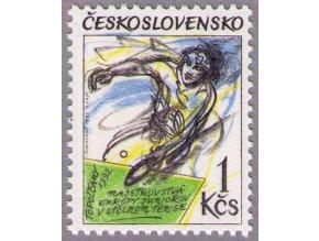 ČS 1992 / 3013 / Stolný tenis **