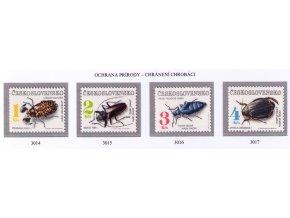 ČS 1992 / 3014-3017 / Ochrana prírody **