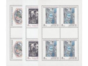 ČS 1992 / 3025-3027 PL / Umenie **
