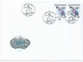 SR 1994 / 026 / ZOH Lillehammer FDC