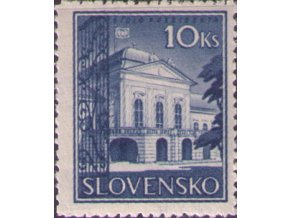 SŠ 046 Prezidentský palác (hladký lep)