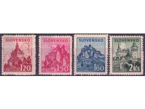 SŠ 052-055 Slovenské hrady