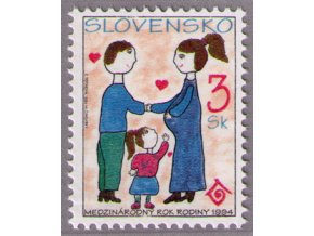SR 1994 / 027 / Medzinárodný rok rodiny