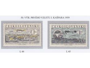 ČS Letecké: L 044-045 Let J. Kašpara