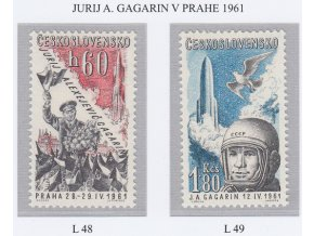 ČS Letecké: L 048-049 J. Gagarin