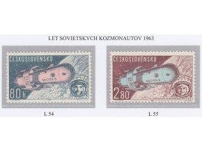 ČS Letecké: L 054-055 Sovietski kozmonauti