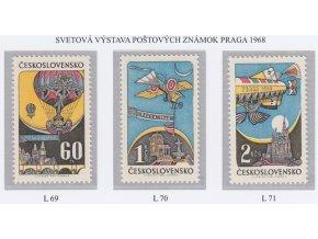 ČS Letecké: L 069-071 Praga 1968