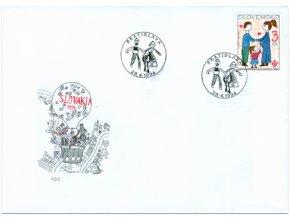 SR 1994 / 027 / Medzinárodný rok rodiny FDC