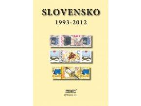 Katalóg známky Slovensko 1993-2012