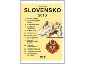 Katalog znamky SR 2013