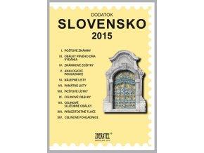 Katalog znamky SR 2015