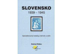 Katalóg známky Slovensko 1939-1945 špecializovaný v korunách
