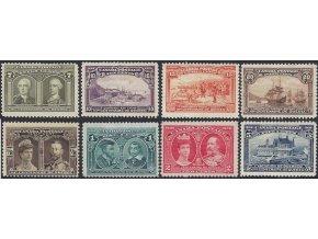 Kanada 1908 / 0084-0091 300. výr. založenia mesta Quebeck *