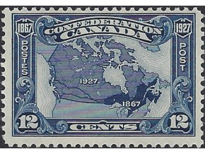 Kanada 1927 / 0122 Mapa **