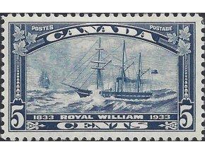 Kanada 1933 / 0174 100. výr. preplávania Atlantiku lode Royal William *