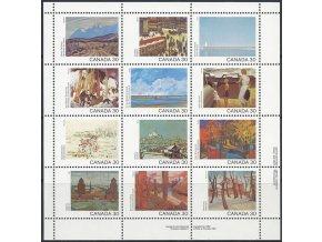 Kanada 1982 / 0835-0846 Umenie PL **