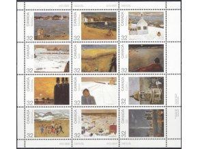 Kanada 1984 / 0910-0921 Umenie - J. P. Lemieux PL **