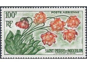 St. Pierre et Miquelon 1962 / 0393 kvety **
