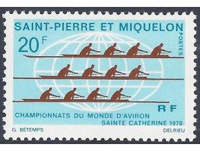 St. Pierre et Miquelon 1970 / 0459 MS vo veslovaní **