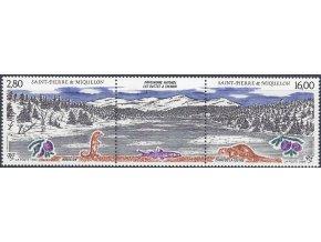 St. Pierre et Miquelon 1993 / 0662-0663 ochrana prírody **