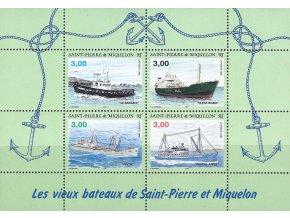 St. Pierre et Miquelon 1996 / 0712-0715 Bl. 4 Lode **
