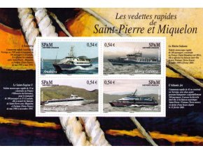 St. Pierre et Miquelon 2006 / 0968-0971 Bl. 8 Lode **
