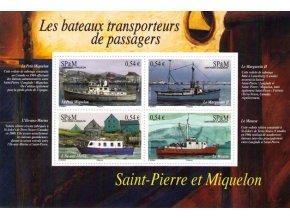 St. Pierre et Miquelon 2007 / 0997-1000 Bl. 9 Lode **